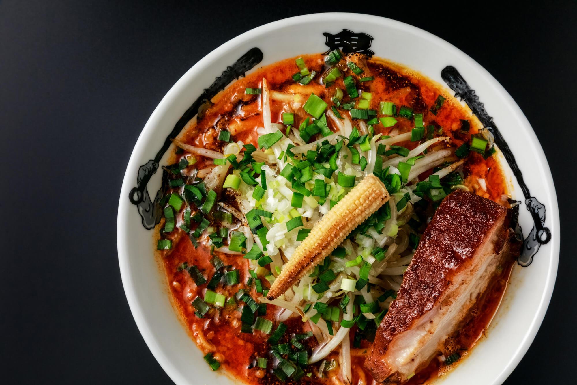 Kikanbo: the concept is ramen to delight all five senses